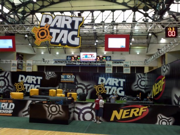 Breaking down the 2011 Dart Tag Arena (Basic Nerf Article) (Part 2)