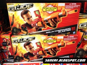 G.I. Joe Retaliation Nerf spotted in Singapore (Photos)