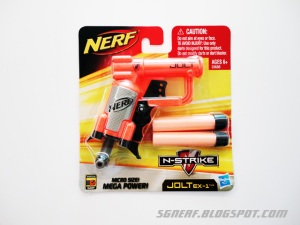 The Nerf Jolt EX-1 Basic Nerf Review (Write Up)