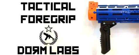 Dorm Labs Facebook Contest for Free Custom Made Nerf Tactical Foregrip