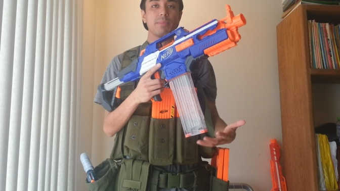 Basic Nerf's 2014 Nerf War Loadout (MOLLE Version)
