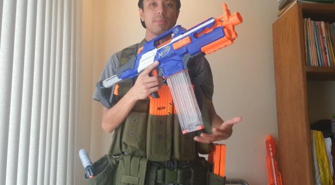 Basic Nerf's 2014 Nerf War Loadout (MOLLE Version)