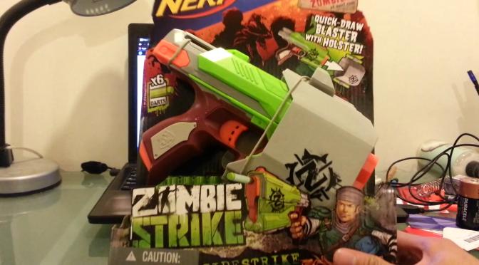 Nerf Zombie Strike Sidestrike Unboxing & Range Test Videos