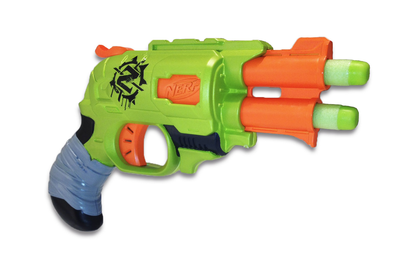 New Zombie Strike Doublestrike Blaster Revealed  Product Description    Nerf Zombie Strike Release Date