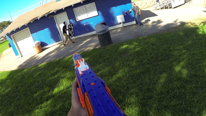 Basic Nerf 8/25/13 Nerf War Video Footage & Recap