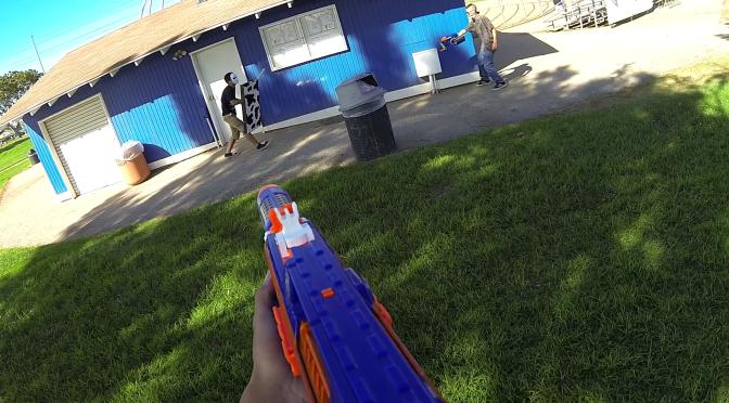 Basic Nerf 8/25/13 Nerf War Video Footage & Recap