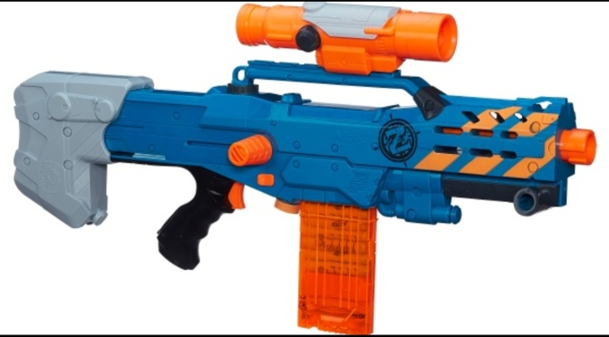 New Nerf Zombie Strike Longshot Spotted Online! Looks to be Target Exclusive