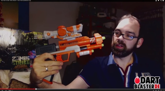 New Zombie Strike Clear Shot Appears Online, Is Actually Another Reshelled & Repainted Blaster