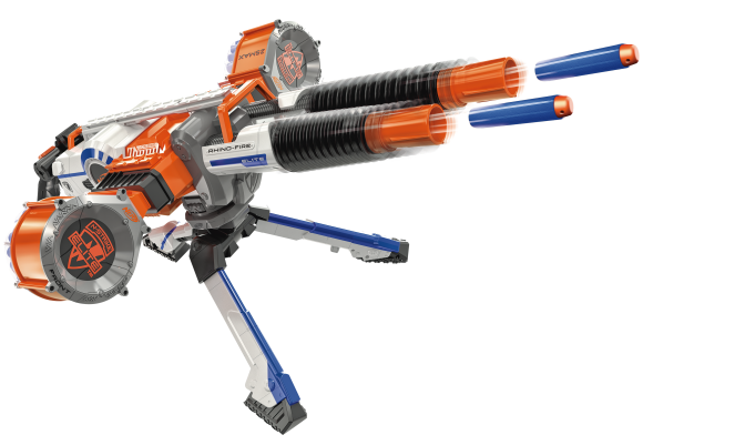 The Upcoming N-Strike Elite Rhino-Fire, the Most Expensive Blaster To Be Released By Nerf. Press Release Info & Firing Video Here