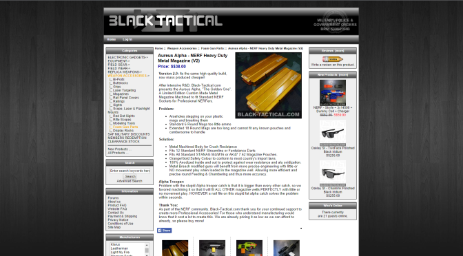 Black-Tactical's Limited Edition Metal Mags/Clips For Nerf Blasters