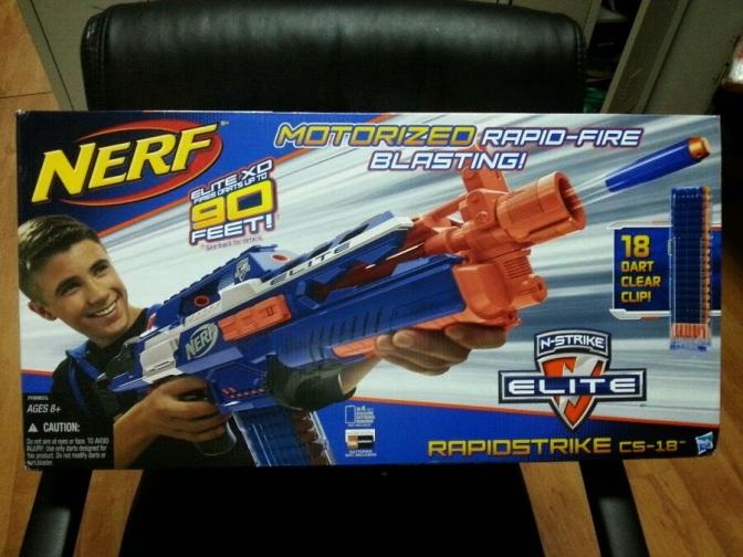 N-Strike Elite XD Line Brings New Standard of Range to Nerf