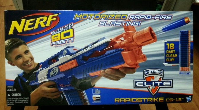 N-Strike Elite XD Line Brings New Standard of Range to Nerf