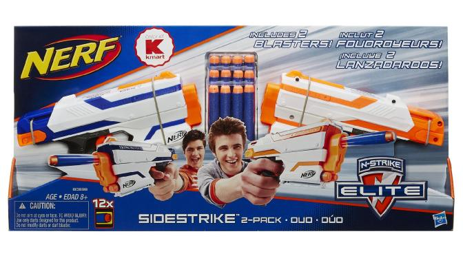 Kmart Puts Up New N-Strike Elite Version of the Zombie Strike Sidestrike