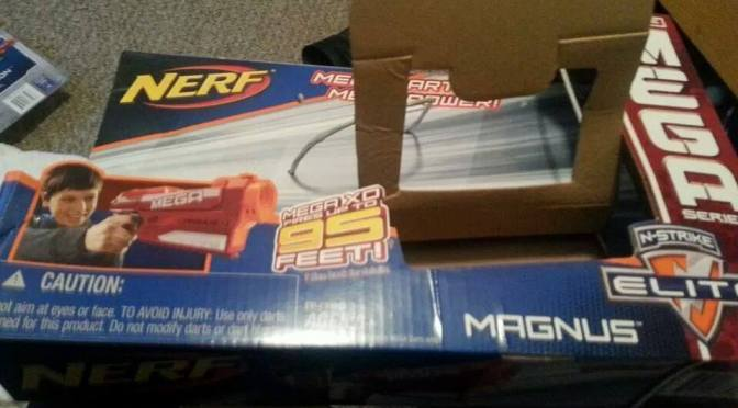 Nerf Quietly Releases Mega XD Line, Magnus Blaster First Of Many?