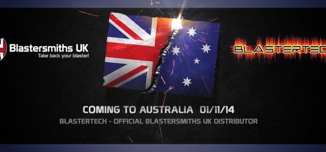 Blastersmiths UK & BlasterTECH Partner Up For Australian, Asian, & Pacific Distribution