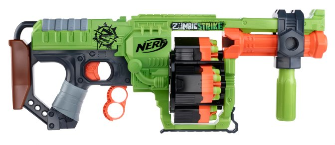 Nerdist Reveals The New Grenade Launcher Style Nerf Zombie Strike Doominator, Release Date & Price Revealed & Discussed