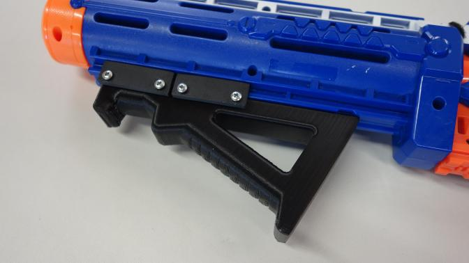 Announcing & Reviewing the New Dorm Labs Angled Foregrip
